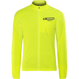 Craft Breakaway - Veste course à pied Homme - jaune